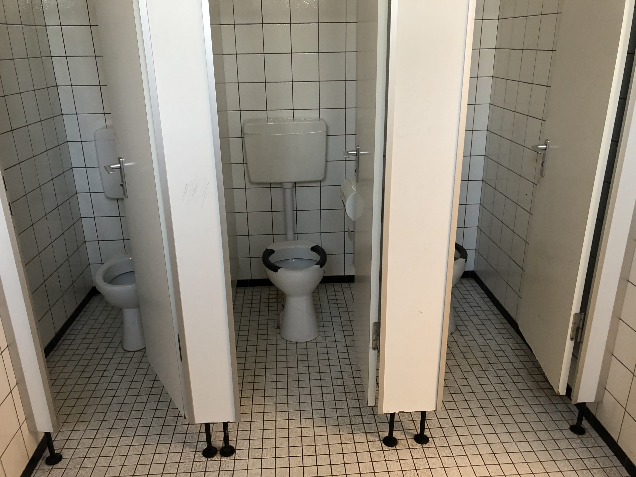 Umbau Toilettenanlage
